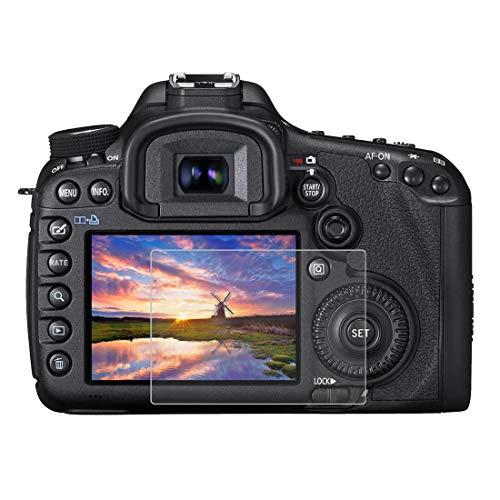 Gehärtetem Glas Displayschutzfolie für Canon EOS 5D Mark III, 0,3 mm ultraklare LCD-Schutzfolien mit 9H Härte, Anti-scrach, Blasenfreie, Anti Fingerprint (5D Mark III)
