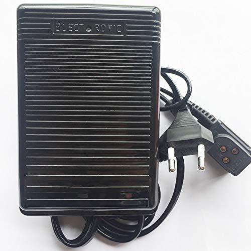 Pedal de control de velocidad de Honeysew con cuerda 979314-031 para máquina de coser Singer 248, 250, 251, 252, 257, 8019, 974, 2517, 2530, 2543, 2950, 3001, 3002