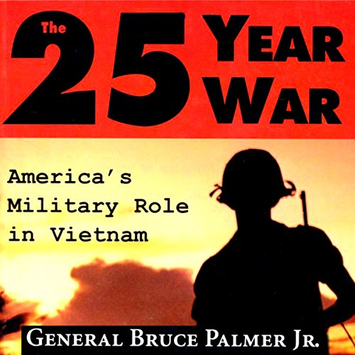The 25-Year War audiobook cover art