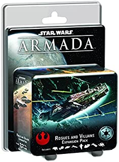 Fantasy Flight Games SWM14 SW Armada: Rogues and Villains Board Game
