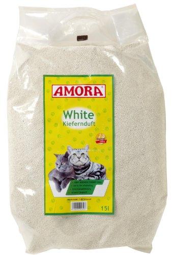 Amora 28334 White Compact mit Kiefernduft 15 Liter