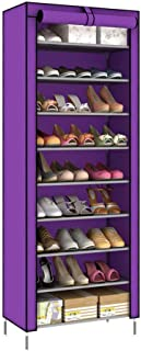 DXMRWJ Armario de Zapatos de Nivel 9 Organizador de Almacenamiento en Torre Soporte para Zapatos con Capacidad para 27 P...