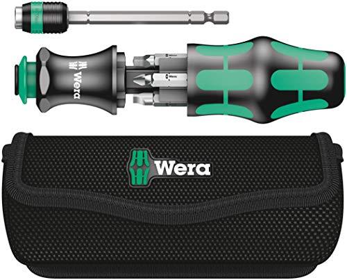 Wera KK 26 7-In-1 Bitholding Screwdriver with Removable Bayonet Blade (SL/PH/SQ)