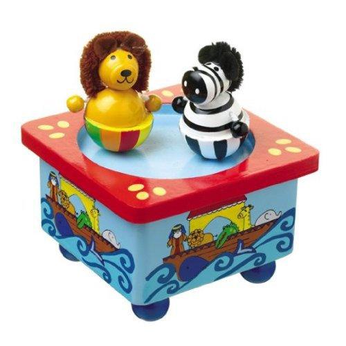 Orange Tree Toys Boîte de Musique d'Arche de Noahs