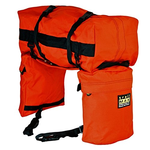 Trailmax Junior - Set de alforjas con bolsa para borrén trasero - Equipaje para silla...