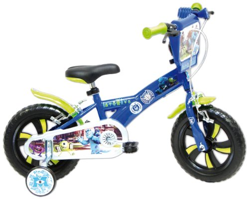 Vélo 12'' garçon licence Monsters - 2 freins
