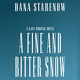 A Fine and Bitter Snow audiobook cover art