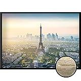 Calias® Póster Premium Paris DIN A1 | Imagen moderna como decoración para salón o dormitorio | Decoración de pared elegante | Cuadro sin marco