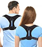 Posture Corrector Clavicle Support Adjustable Breathable Back Support Brace Providing Pain Relief