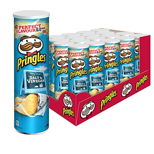 Pringles Salt & Vinegar Chips, 19er Pack (19 x 200 g)