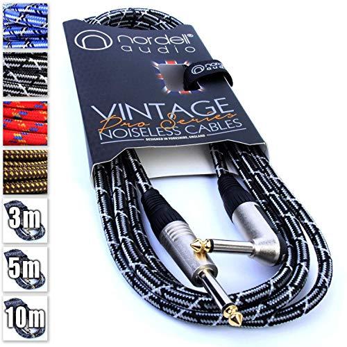 Premium Braided Guitar Cable: 3m...