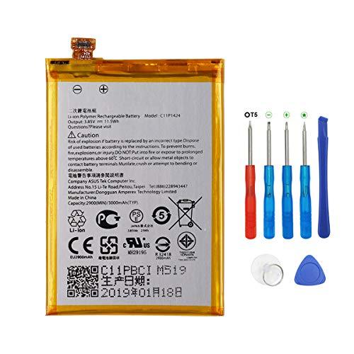 Swark Battery C11P1424 Compatible with ASUS Zenfone 2 ZE550ML ZE551ML ZE500CL Zenfone 2 Deluxe with Tools