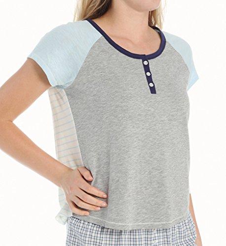 Tommy Hilfiger - Camiseta de manga corta para mujer, L