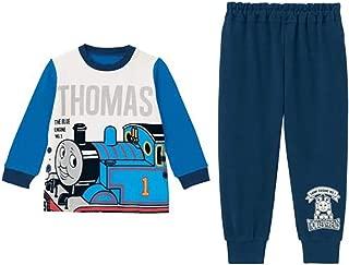 [ベルメゾン] きかんしゃトーマス 子供 パジャマ 男の子 おなかが出にくい 長袖 ブルー