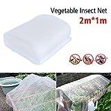 BETTERLE 12Garten Schutz Netz, Insekten Moskitonetz Bird Bug Net Barrier Gemüse Jagd Rollo Netz für Schutz Pflanzen Obst Blumen Gemüse oder Windows