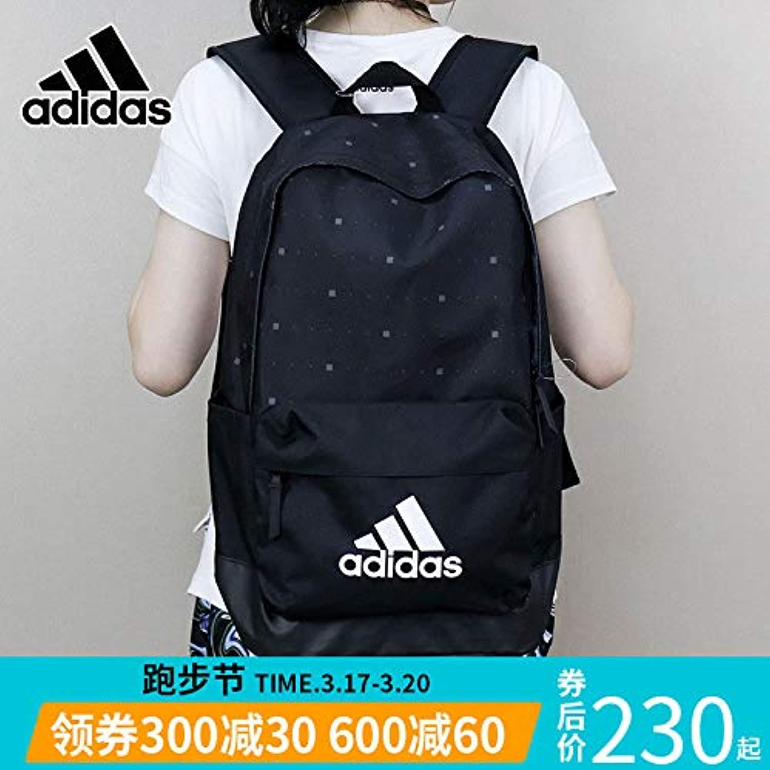 Adidas Adidas Backpack Men's Bags Women's Bag 2019 New Bag Outdoor Travel Sports Backpack DM2905