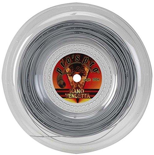 Pros Pro Nano Vendetta 200m 1.25mm Cordaje de tenis silver