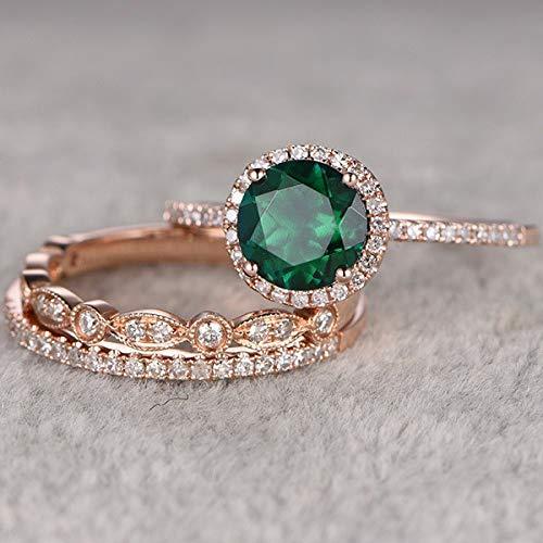 Anillo Esmeralda  marca Panwa Jewelry