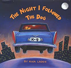 A screenshot of the cover of the book The Night I Followed the Dog