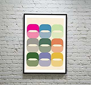 Modern Nordic Art Prints and Orla Kiely Gifts for Lovers Poster [No Framed] Poster Home Art Wall Posters