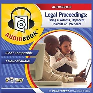 Legal Proceedings audiobook cover art