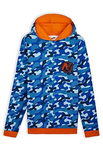 Nerf Bluza z kapturem dla chłopców, kamuflażowa bluza dla chłopców, nastolatków, dzieci bluza z kapturem bawełna wiek 4-14 lat