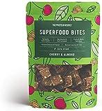 Superfood Bites | 100 Prozent natürlicher, veganer, pflanzlicher, gesunder Snack | THE PROTEIN WORKS, Kirsche & Mandel, 140g