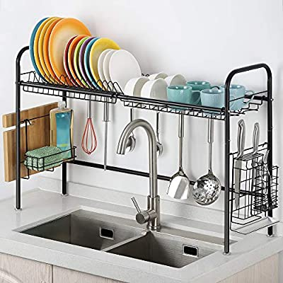 Black Dish Rack from