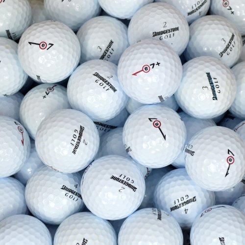 Second Chance Bridgestone E7+, Set 100 Palline da Golf, Categoria A Unisex, Bianco