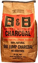 B&B Charcoal Oak Lump Charcoal, Flavor Oak, 20 lbs.