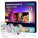 PANGTON VILLA Led Strip Lights, 14.3ft for 65-75in TV, USB LED TV Backlight Kit...