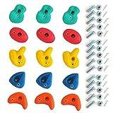 Piedras escalada, presas set 15 piezas