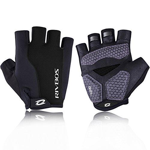 RIVBOS Bike Gloves Cycling Gloves Fingerless