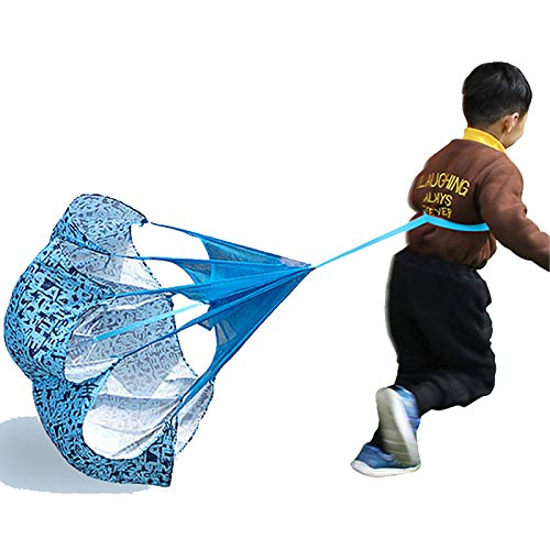 3PCS Running Speed Training, Resistance Parachute with Adjustable Strap, for Kids Youth Adults Soccer Football Sport Training