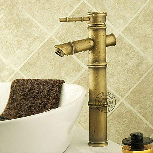 Review High Water Flow Basin Sink Mixer Tap for Lavatory Hot and Cold Water Brass Hot and Cold Water...