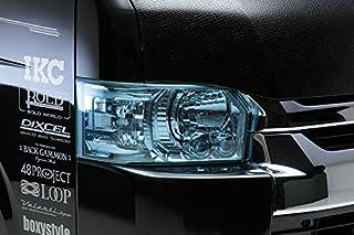 【LEGANCE】レガンス 200系ハイエース Ⅲ型 カラーヘッドライトカバー スカイブルー 左右セット