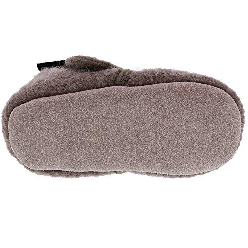 CELAVI Unisex-Baby Wool Shoe Hausschuh, Dusty Lavender, 21 EU - 2