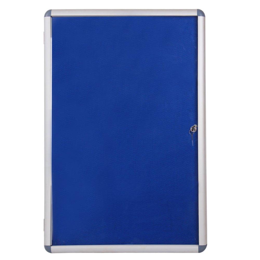 VIZ PRO Tamperproof Lockable Noticeboard Aluminium