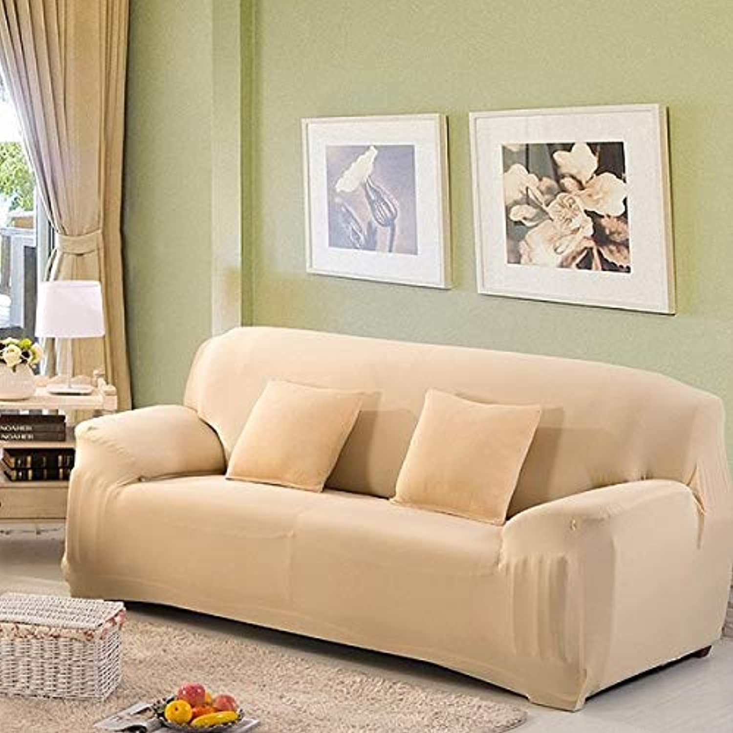Sofa Cover Tight Wrap All-Inclusive Stretch Modern Sofa Covers for Living Room Washable Home Hotel Couch Cover copridivano   color 5, 2seater 145-185cm