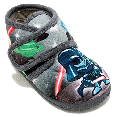 Vulcabicha 1079 - Zapatillas con Velcro de Star Wars