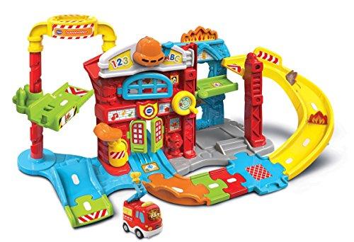 VTech Baby 80-503904 - Tut Baby Flitzer - Feuerwehrstation