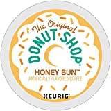 The Original Donut Shop Honey Bun coffee single serve capsules for Keurig K-Cup Pod brewers (18 Count)