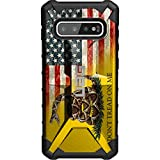 UAG Samsung Galaxy S10+ Plus [6.4' Screen] Limited Edition Case Urban Armor Gear by EGO Tactical - Don't Tread on Me Flag/Digi Camo USA Colored Flag Rev.