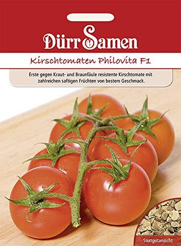 Dürr Samen Kirsch-Tomaten Philovita F1 8 Korn 1760