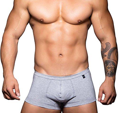 Andrew Christian Boxershort Basix Tagless Comfort 90150, grau
