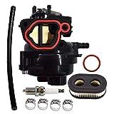 799584 Carburetor for Model 09P702 9P702 550EX 625EX 675EX 725 EXI 140cc Engines Carb with Air Filter Spark Plug Kit