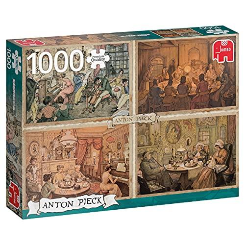 Premium Collection Anton Pieck - Living Room Entertainment 1000 pcs Legpuzzel 1000 stuk(s)