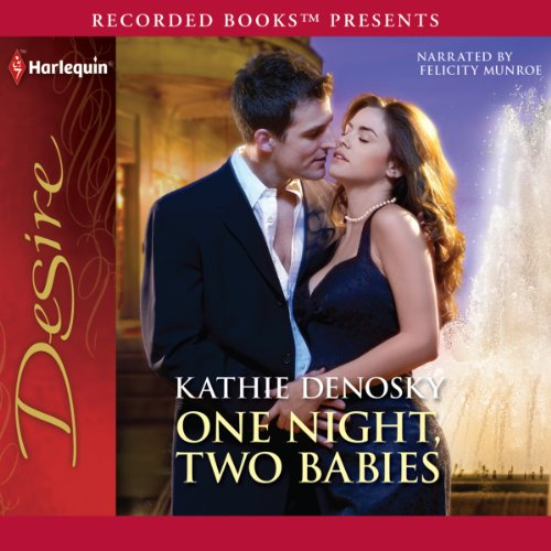One Night, Two Babies audiobook cover art