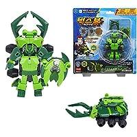 [Bugs Bot]バックスボット イグニッション 2段変身ロボット ミノス /クワガタとロボットに変身可能/攻撃力と防御力を高め、アップグレードロボット/ Transformation Bugs Robot MINOS[並行輸入品]