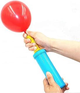 空気入れ 倍速ポンプ Camino【速さ2倍アップ】風船用/ビーチボール/浮き輪/フットレスト エアークッション 用 ダブルアクションポンプ